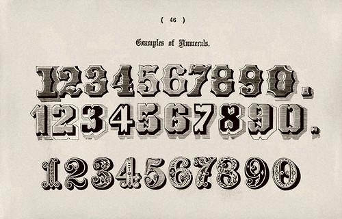 021-Ejemplos de numeros-Examples of Modern Alphabets… 1913- Freeman Delamotte