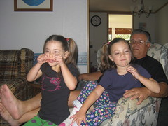 Grandpa and girls