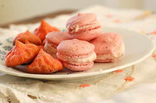 macarons and merguines