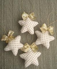 Estrelas (Handmade by Carol) Tags: natal estrelas molde enfeite