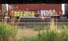 (trentcall) Tags: graffiti utah saltlakecity freight kose reken