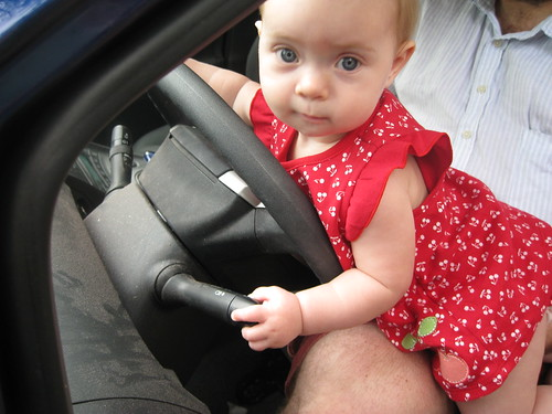 I'm driving!