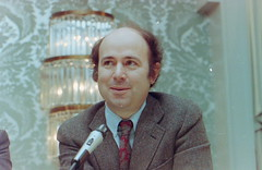 STS 1991 Alunmi Panel - Nobel Laureate Frank Wilczek (STS '67) (Society for Science & the Public (SSP)) Tags: dc washington 1991 ssp sts societyforsciencethepublic