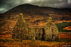 The Ruin (3) (Shuggie!!) Tags: mountain skye clouds landscape scotland moody williams ruin karl drama hdr dwelling beinn caillich explored karlwilliams selectbestexcellence sbfmasterpiece