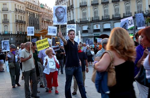 Concentración contra la impunidad del Franquismo (16/09/2010)
