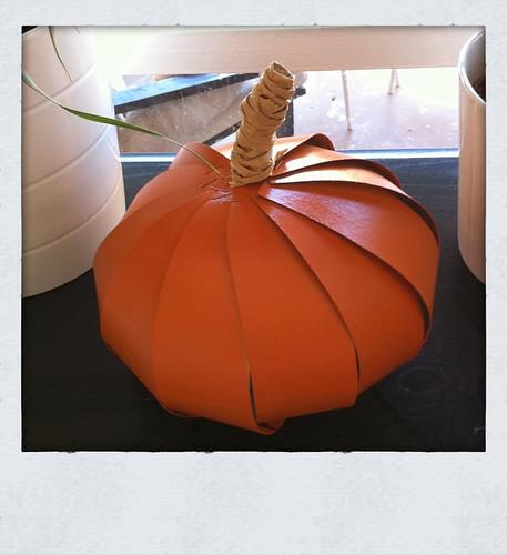 Cereal box pumpkin
