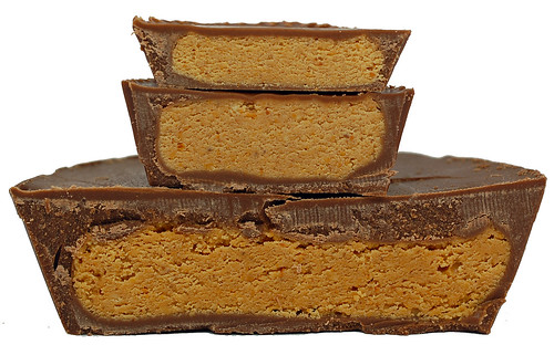 Reese's Peanut Butter Cup Cross Section 3 Sizes