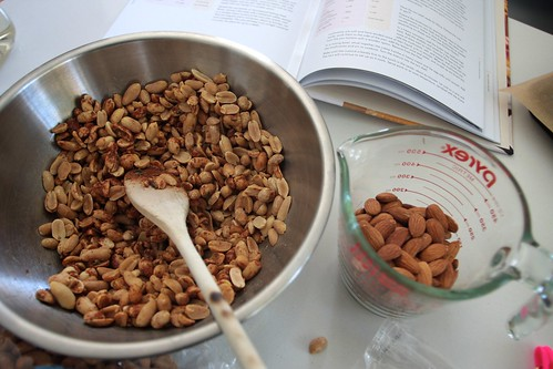nut stirring