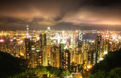 Hong Kong Nights (maciej.ka) Tags: city longexposure urban night asia cityscape skyscrapers harbour victoria hong kong nights kowloon hongkongnight victoriaharbour asiacity cityscapenight