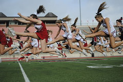 Flying High (lexusdeloach) Tags: yearbook homecoming cheer coppell photoj