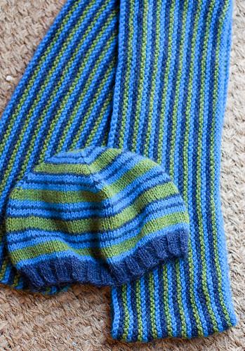 scarf & hat set