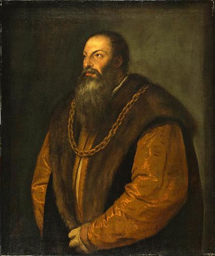 Pietro Aretino, Titian (Tiziano Vecellio), c. 1537