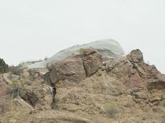 Ash-formed rock near Cress Creek