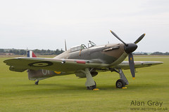 G-HUPW HAWKER HURRICANE I G5 92301 PRIVATE - 100905 Duxford - Alan Gray - IMG_1855