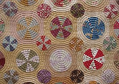 Pies & Tarts Quilt (QOB) Tags: quilt quilted applique handpieced qob longarmmachinequilted quiltsonbastings piestartsquilt