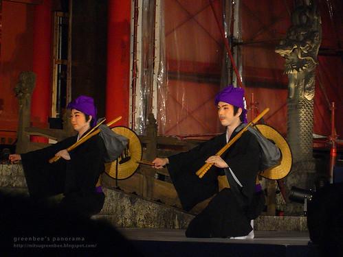 首里城 中秋の宴〜組踊「万歳敵討(まんざいてぃちうち)」