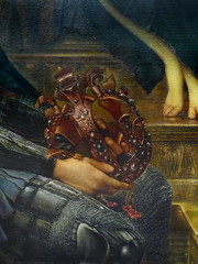 Detail of Crown, King Cophetua and the Beggar Maid