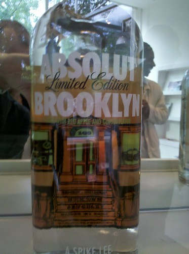Absolut Brooklyn ltd edition
