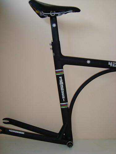 56cm Yamaguchi Zero track pursuit/TT frame and fork