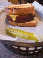 Summer sausage sandwich