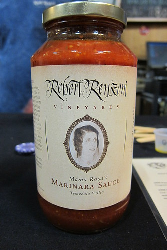 Renzoni Vineyards: Mama Rosa's Marinara Sauce