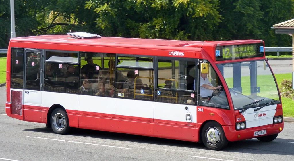 Plymouth Citybus 213 MX53FEF