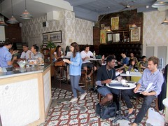 Interior of Ost Café