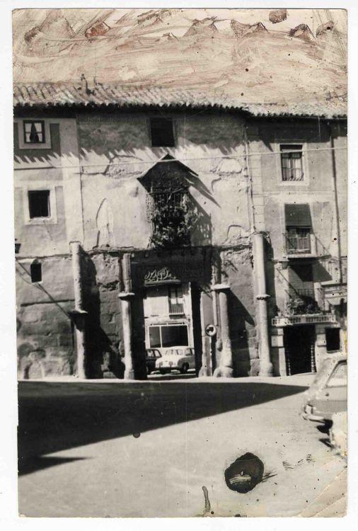 Corral de Don Diego hacia 1970. Colección Luis Alba. Ayuntamiento de Toledo