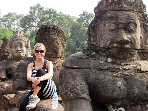 Buddhas Outside Wat Thom