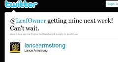 Lance getting his Leaf next week?