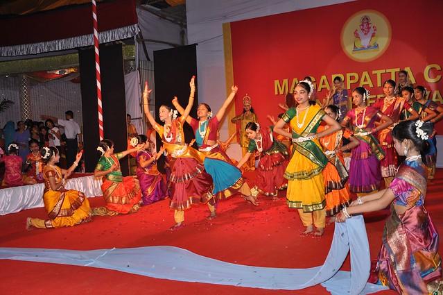 Geet Ramayana with rhythm at the Magarpatta City Ganesh Festival