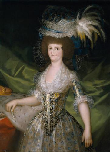 Francisco de Goya y Lucientes, María Luisa de Parma, reina de España