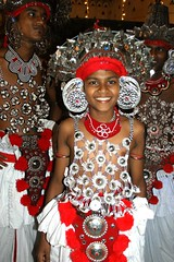 Dancer 4. Kandy (Claire Pismont) Tags: travel portrait color face colorful asia earth dancer asie srilanka ceylon procession pageant couleur kandy viajar perahera kandyan ceylan documentory pismont clairepismont