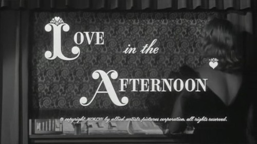 title - Love in the Afternoon