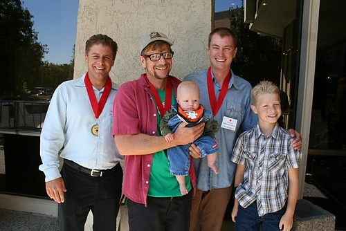 jason, nate (his son), alex & joseph (saved boy)