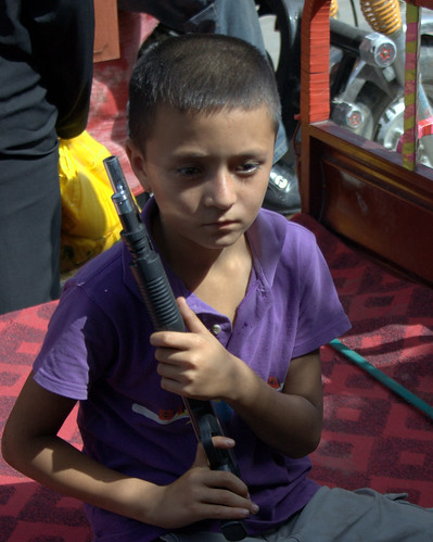 So Many Boys in Xinjiang Play with Toy Guns