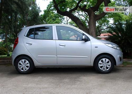 Hyundai I10 Sportz. Exterior - Hyundai i10 Sportz