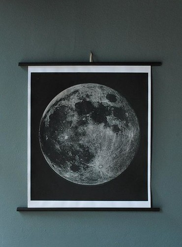 Agent Gallery Moon Print