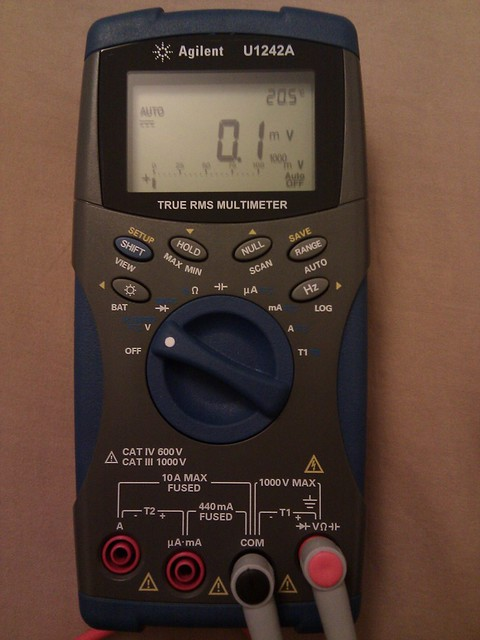 Agilent U1242A multimeter