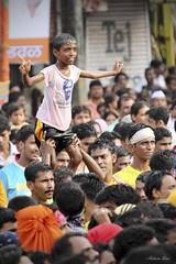 Dahi Handi: Celebration (AshwinDias) Tags: party india sport festival canon mumbai dias ashwin govinda handi janmashtami dahi 50d phototrippin wwwphototrippinin