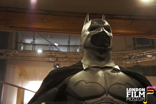 London Film Museum: Christian Bale's Batman Bat Suit from Batman Begins