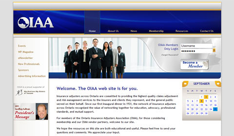 OIAA Website - PHP, Drupal, CiviCRM site