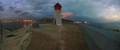 Faro de Navidad (Cani Mancebo) Tags: sunset espaa lighthouse canon faro atardecer spain panoramic tokina murcia cartagena panormica 1116 400d canoneos400ddigital 1116mm farodenavidad canimancebo tokina1116f28dxatxpro