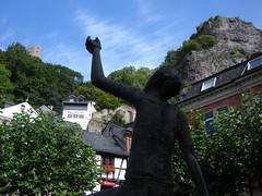 Junge mit Edelstein in Idar-Oberstein