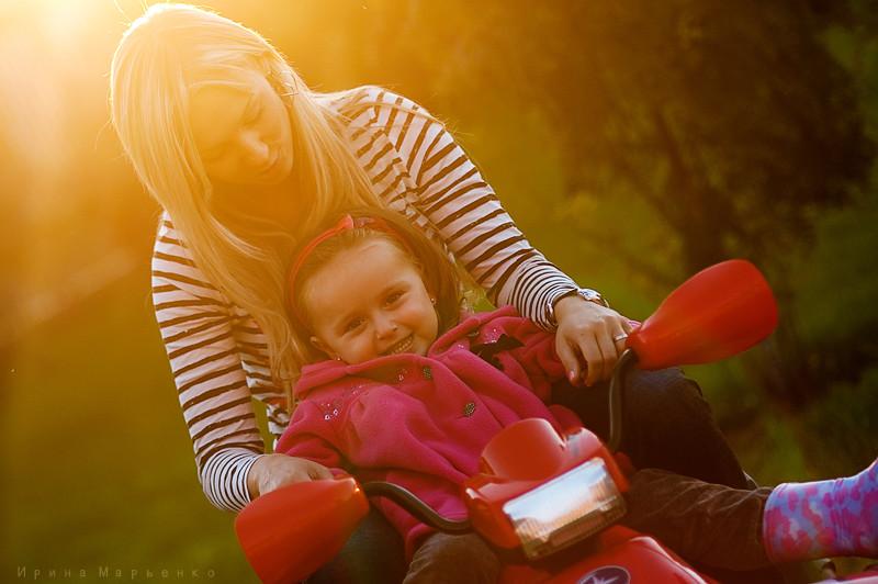 Фотосессия мама и дочь. Фотограф Ирина Марьенко. Fotostomp.ru