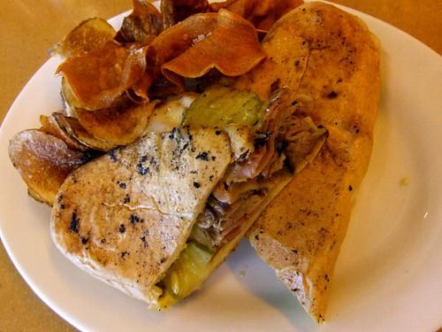 Cuban Sandwich at Fuel Cafe