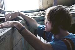 (yyellowbird) Tags: boy house abandoned southdakota shane ghosttown okaton