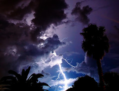 Ka Boom! (minds-eye) Tags: lighting sky storm clouds florida tropical