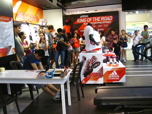 Adidas KOTR: Registration Line