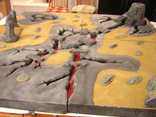 Mordor Board Finished